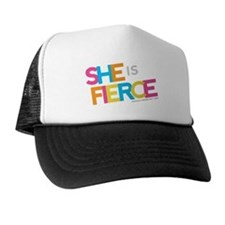 She is Fierce - Color Merge Trucker Hat