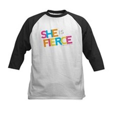 She is Fierce - Color Merge Tee