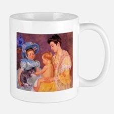 Mary Cassatt, Cat Cuddle Mug