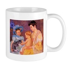 Mary Cassatt, Cat Cuddle Mug