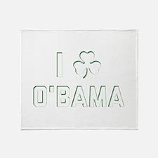 I O'Bama Throw Blanket