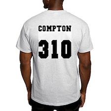 """COMPTON 310"" Ash Grey T-Shirt"