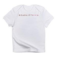 Deadlift Diva - Brown & Pink Infant T-Shirt