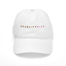 Deadlift Diva - Brown & Pink Baseball Cap