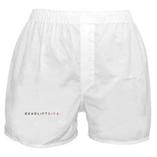 Deadlift Diva - Brown & Pink Boxer Shorts
