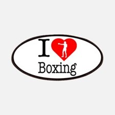 I Love Boxing Patches