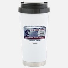 USMM Cadet Corps Stainless Steel Travel Mug