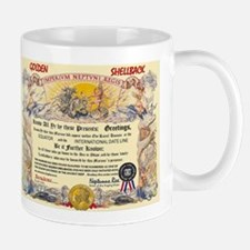 GOLDEN SHELLBACK Mug