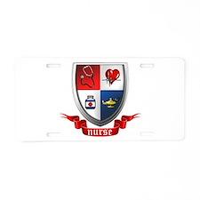 Nursing Crest Aluminum License Plate