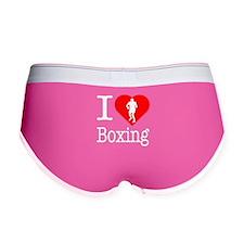I Love Boxing Women's Boy Brief