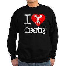 I Love Cheering Sweatshirt