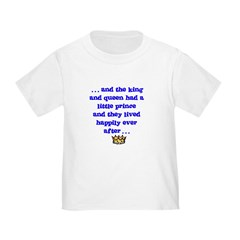 Happily Ever After Prince Toddler Tee