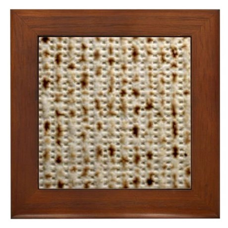 Matzo Mart Framed Tile