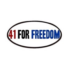 41 for Freedom Patches