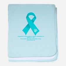 2012 CDH Awareness Day Items baby blanket