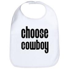 Choose Cowboy! Bib