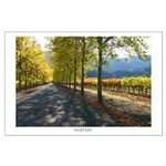 """""""HARVEST"""" Large Napa Valley Poster"""