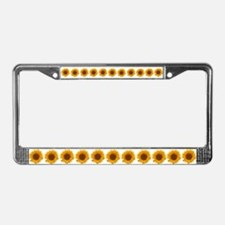 Sunflower-y License Plate Frame