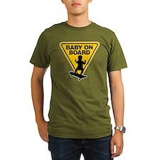 Baby On Board (Skateboard) T-Shirt