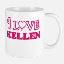 I Love Kellen Mugs