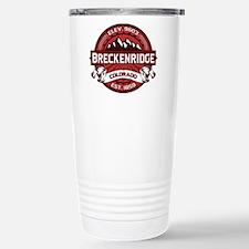 Breckenridge Red Stainless Steel Travel Mug