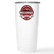 Breckenridge Red Travel Mug