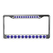 Cornflower License Plate Frame
