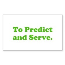 To Predict and Serve. Decal
