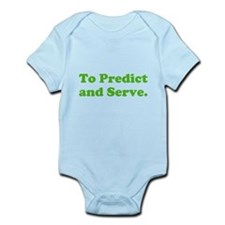 To Predict and Serve. Infant Bodysuit