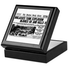Boston Molasses Disaster Keepsake Box