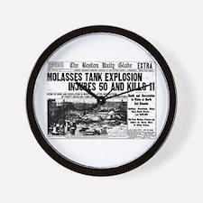 Boston Molasses Disaster Wall Clock