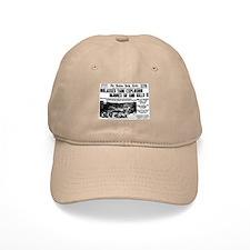 Boston Molasses Disaster Baseball Baseball Cap