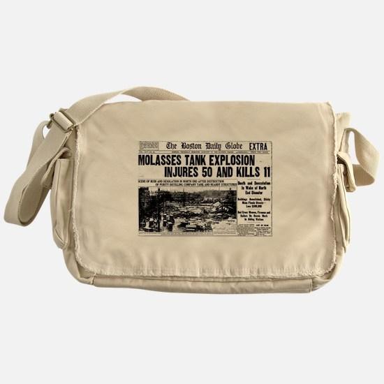 Boston Molasses Disaster Messenger Bag