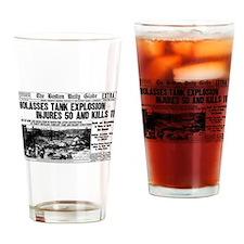 Boston Molasses Disaster Drinking Glass