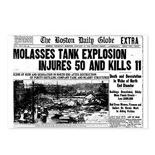Boston Molasses Disaster Postcards (Package of 8)