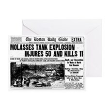 Boston Molasses Disaster Greeting Card