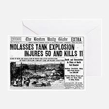 Boston Molasses Disaster Greeting Card