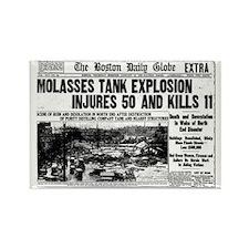 Boston Molasses Disaster Rectangle Magnet