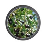 Wine Country Gifts Olives Wall Clock