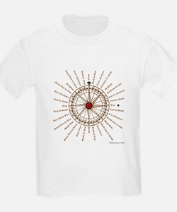 Good Luck English Compass Rose T-Shirt