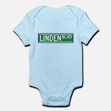 Linden Boulevard Sign Infant Bodysuit