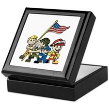 politics Keepsake Box