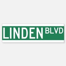 Linden Boulevard Sign Bumper Bumper Sticker