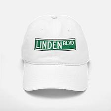Linden Boulevard Sign Baseball Baseball Cap
