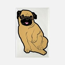 Sweetie Pug Rectangle Magnet