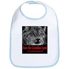 save the candian lynx Bib