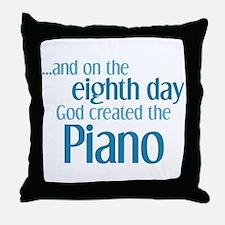 Piano Creation Throw Pillow