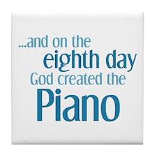 Piano Creation Tile Coaster