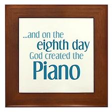 Piano Creation Framed Tile
