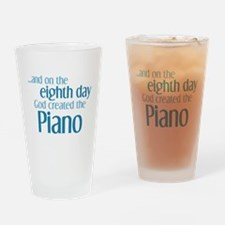 Piano Creation Drinking Glass